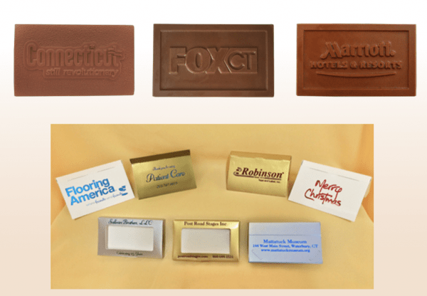 Business Chocolate Cards