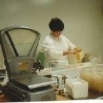 Helen Making Chocolate