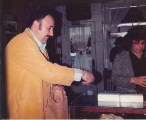 John Fascia Selling Chocolate-Fulltime