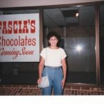 Lynne Fascia Outside New Store